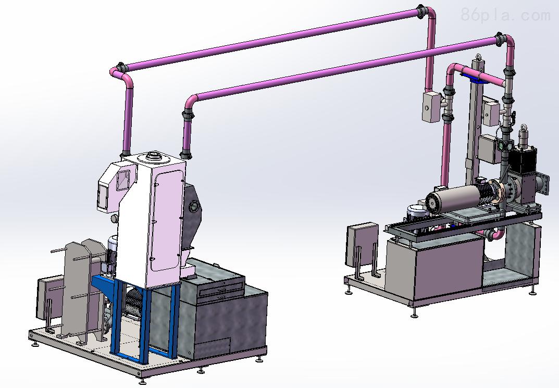 塑料工业水下切粒机