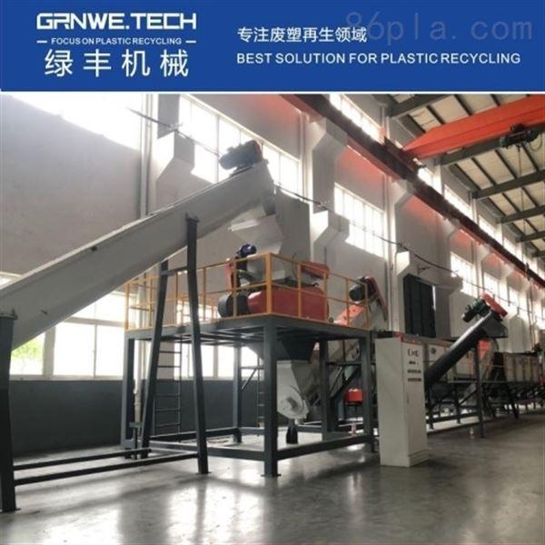 工业吨桶破碎再生机器HW49危废桶清洗生产线