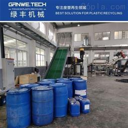 HDPE树脂化工桶清洗线设备