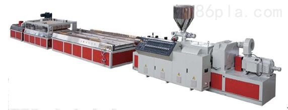 木塑型材、板材生产线
