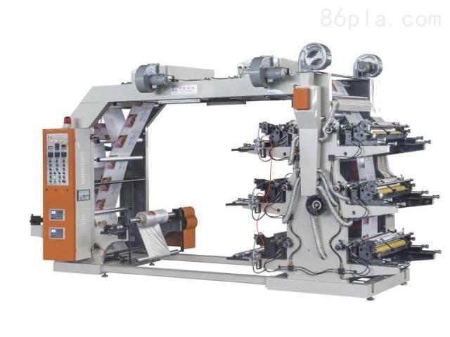 六色高速柔性印刷机