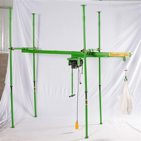 高层室内吊运机-室内四立柱直滑式上料机