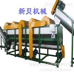 塑料编织袋清洗线 PP编织袋撕碎清洗挤干造粒回收生产线