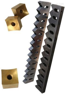 新贝撕碎机厂家提供专业撕碎机动刀定刀  破碎机刀具