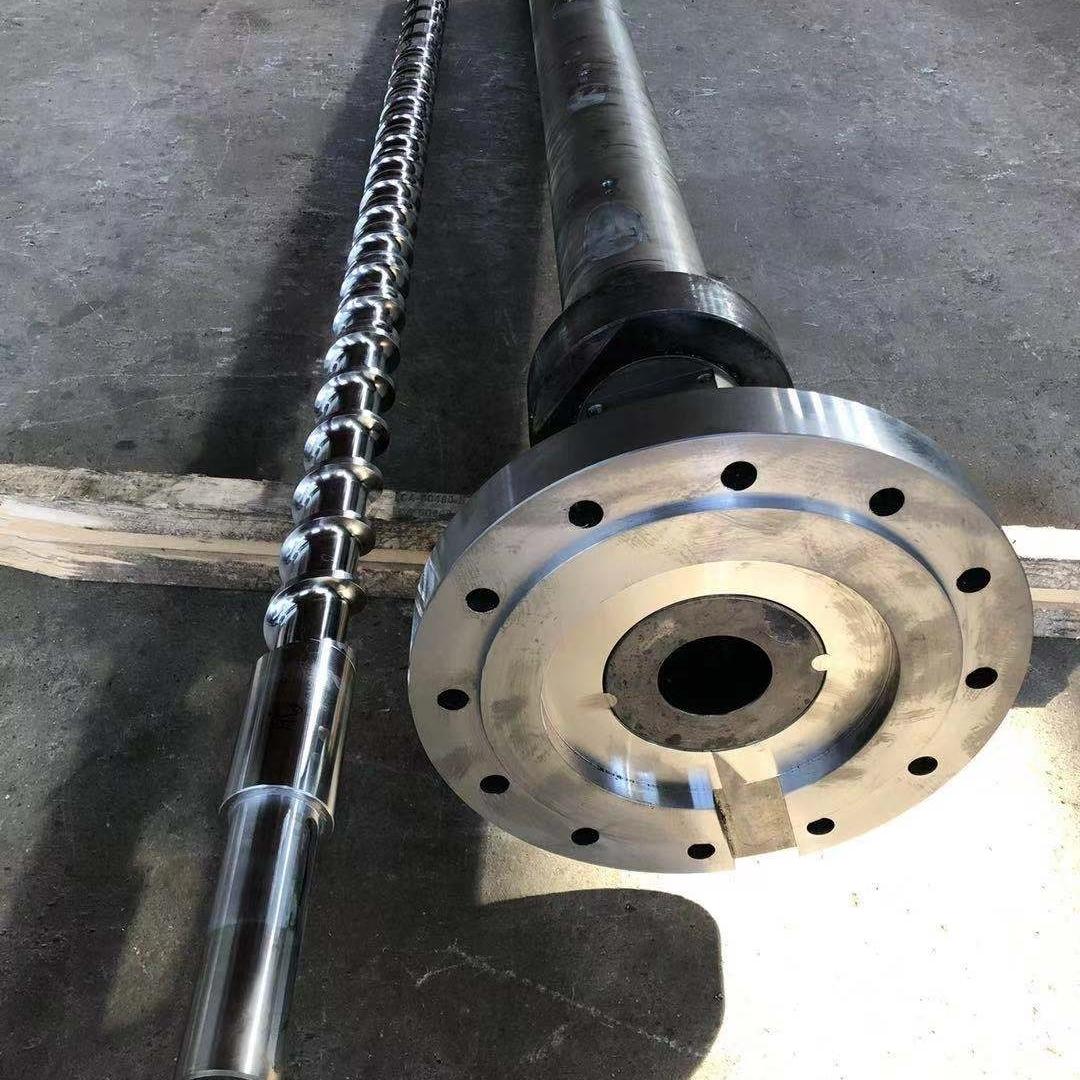 金丰螺杆-排气型合金螺杆机筒