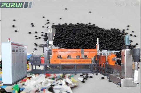 SJ双阶子母塑料回收造粒生产线