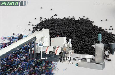 PP编织袋吨包袋回收造粒机-  张家港市普瑞塑胶机械有限公司