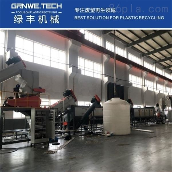 HW49化工桶清洗设备HDPE试剂桶回收处理线