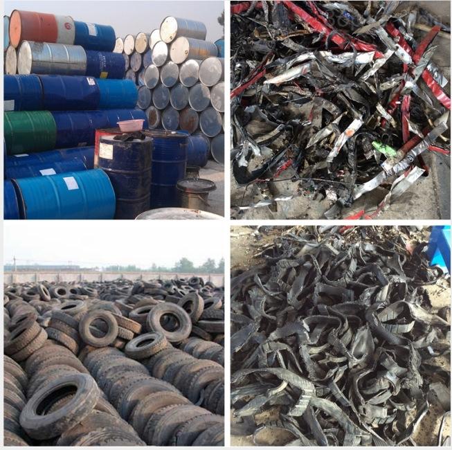 生活垃圾废弃物与成品