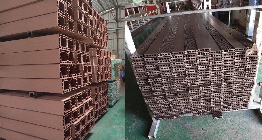 木塑异型材挤出生产线