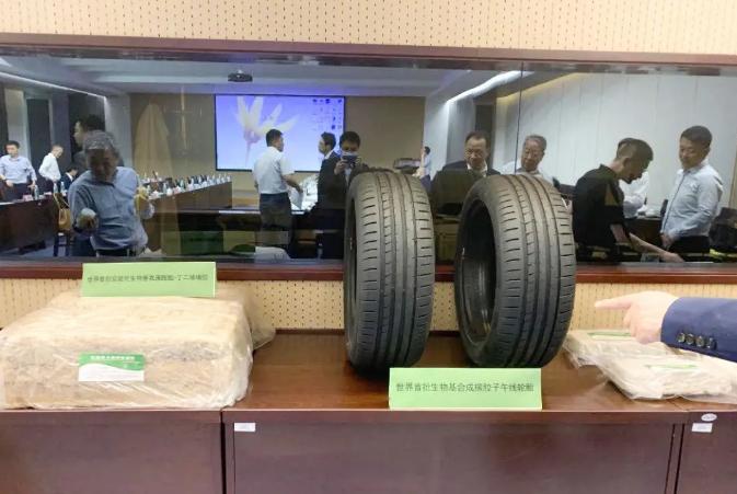 玲瓏致力于生物基合成橡膠技術應用,助力世界首批次輪胎下線!